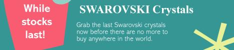 SWAROVSKI Crystals while stocks last
