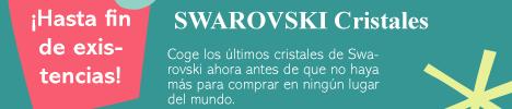 SWAROVSKI Cristales hasta fin de existencias