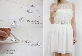 Do it Yourself Set | DIY Belt from gogoritas® made with Swarovski Elements, Wedding