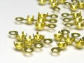 Chain spreader for Chatons 12x15mm 4-fach (gold)