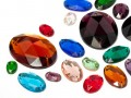Rhinestones to stitch of Star Bright | Oval, 7.0 - 18.0mm, Color Multi Size Mix