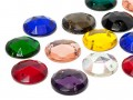 Rhinestones to stitch of Star Bright | Round, 22.0mm, Colormix, Second Quality
