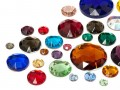Rhinestones to stitch of Star Bright | Round,  7.0 - 35.0mm, Color Multi Size Mix