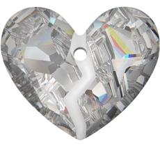"""Anhänger von Swarovski Elements """"Forever 1 Heart"""" 36.0mm (Crystal), RESTPOSTEN"""