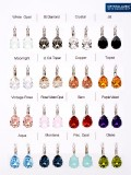 "16 pair of Pierced Earrings ""Magico"" including a display"