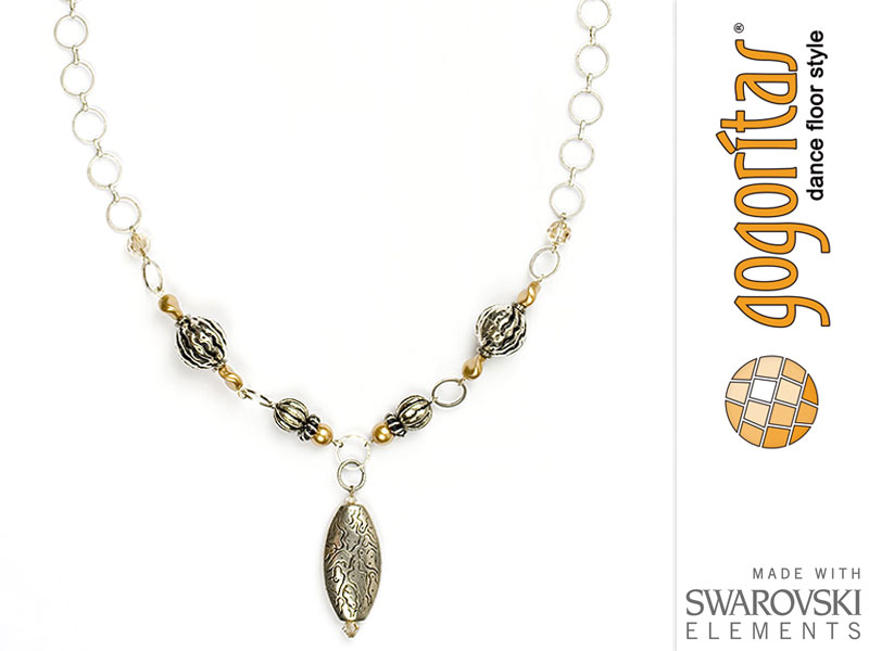 "Necklace ""Festiva"" with original Swarovski Elements Crystals"