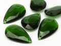 Acryl glass Pendant of Optima Drop 28x47mm (Emerald)