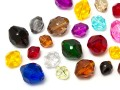 Acrylic Beads of Star Bright | Oval, 10.0 - 22.0mm, Color Multi Size Mix
