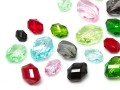 Acrylic Beads of Star Bright | Oval,  8.0 - 22.0mm, Color Multi Size Mix