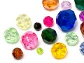 Acrylic Beads of Star Bright | Round,  5.5 - 20.0mm, Color Multi Size Mix