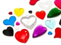 Acrylic Pendant of Star Bright | Heart, 10.0 - 65.0mm, Color Multi Form Mix
