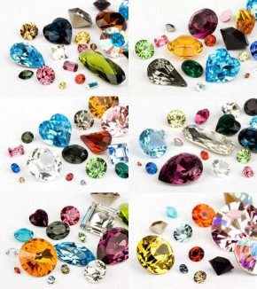 Chatons of Swarovski Elements (Multi Form Mix)