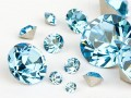 Chatons von Swarovski Elements (Aquamarine Multi Size Mix)
