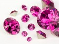 Chatons von Swarovski Elements (Fuchsia Multi Size Mix)