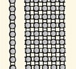 Crystal Bandings of Swarovski Elements PP12 - 5 Rows (black/crystal), REMAINING STOCK