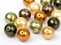 Crystal Beads of Swarovski Elements  6mm   (Safari Mix)
