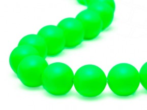 Crystal Beads of Swarovski Elements  8mm  (Crystal Neon Green)