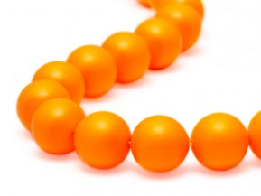 Crystal Beads of Swarovski Elements  8mm  (Crystal Neon Orange)