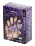 CRYSTAL PIXIE EDGE | DIY Nail design with Swarovski Crystals | Nail Box Pixie - Blossom Purple