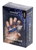 CRYSTAL PIXIE EDGE | DIY Nail design with Swarovski Crystals | Nail Box Pixie - Sahara Blue