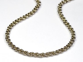 Decoration-chains for jewelry production (silver)