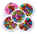 "DIY ""flower box"" with Plastic Beads 