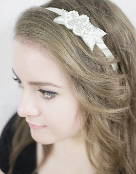 Do it Yourself Set | DIY Hair band from gogoritas® made with Swarovski Elements, Wedding