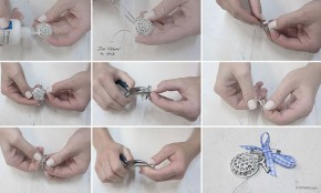 "Do it Yourself Set | DIY Handcraft Set ""Brooch"" from gogoritas® made with Swarovski Elements"