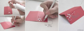 "Do it Yourself Set | DIY Handcraft Set ""Place Cards"" for school enrollment from gogoritas®"