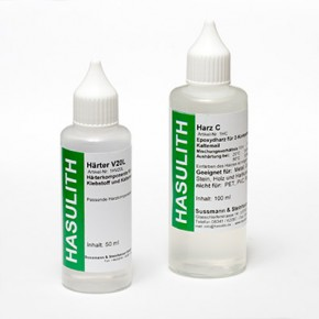 Extremely strong Two-Component adhesive of Hasulith