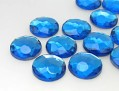 Gemstones | Rhinestones | 20.0mm, Round, Aquamarine