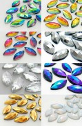 Gemstones 7x15mm (Color Mix)