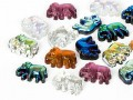 Gemstones  8x11mm Elephant (Color Mix)