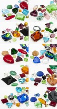 Gemstones of Optima 3-25mm (Color Multi Form Mix)