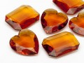 Gemstones of Optima Octagon/Heart  30-40mm (Topaz Form Mix)
