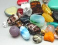 Glass Beads 4-32mm (Color and Sizes Mix, Second Quality)