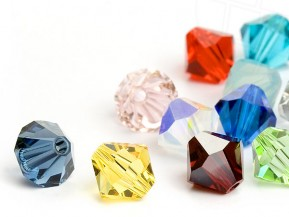 Glass Beads of Swarovski Elements Bicone 10mm   (Colormix)