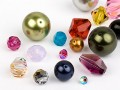 Glass Beads of Swarovski Elements (Multi Form Mix)