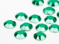 Hotfix Aluminum Rhinestuds of Unique  2mm (Emerald), REMAINING STOCK
