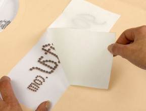 Hotfix Silicone Transfer Foil for creating Rhinestone Transfers