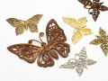 "Jewel component ""Butterfly"" 20-55mm (gold/bronze)"