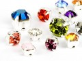 Mounted Chatons to stitch of Swarovski Elements (Color Multi Size Mix)