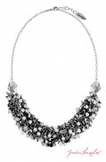 "Necklace ""Las Vegas Ghost Bar Silvershade"" , with original Swarovski Elements Crystals"