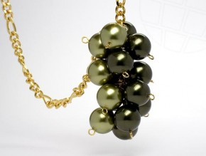 "Necklace ""Natural"" with original Swarovski Elements beads"