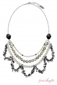 "Necklace ""Oslo Statement"" , with original Swarovski Elements Crystals"