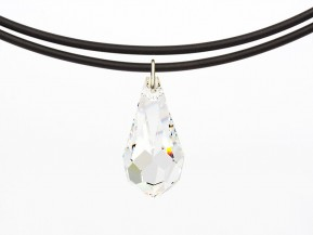 "Necklace Universal with an original Swarovski Elements ""Drop"" pendant (Crystal)"