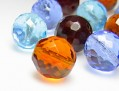 Perles de Verre a enfiler 8 mm (Farben Mix)