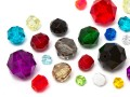 Perles en acrylique en Star Bright | Rond,  5.0 - 18.0mm, Color Multi Size Mix