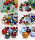 Professional Package Glass Beads Color Multi Size Mix