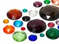 Rhinestones | Gemstones No-Hotfix of Star Bright |  7.0 - 35.0mm, Round, Color Multi Size Mix